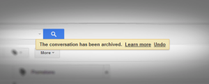 Gmail feedback